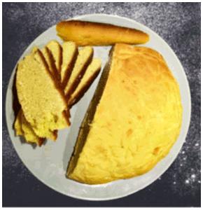 pain farine de pois chiche