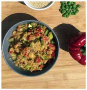 risotto de quinoa ou quiniotto