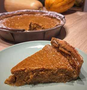 tarte à la courge pumpkin pie recette