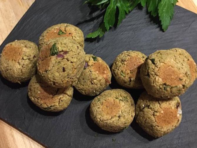 recette d'afrique : falafels