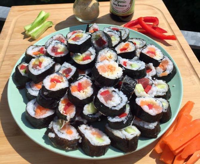 recette de maki japonais