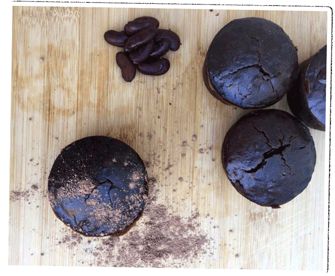 fondant au chocolat peruvien