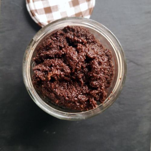 pâte a tartiner maison noisette chocolat amande