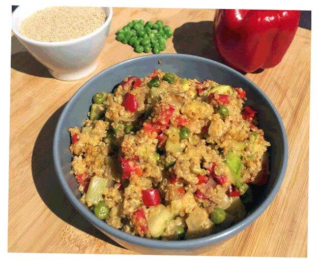 recette d'amérique du sud, le risotto de quinoa