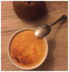 flan coco antillais au lait concentre sucre