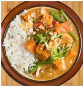 curry cambobgien au poulet khmer